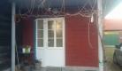 pvc ulazna vrata na drvenoj kući