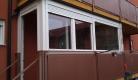 zatvaranje balkona pvc prozorskim stijenama