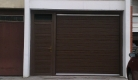 Sekcijska garažna vrata u boji
