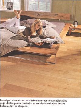 drveni podovi za alergičare